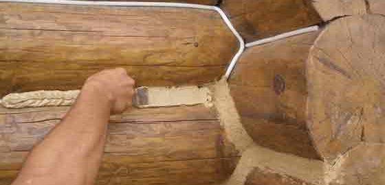 Теплый шовдля деревянного домостроения
