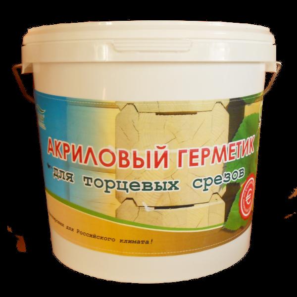 Акриловый герметик для торцов древесины Акцент-140