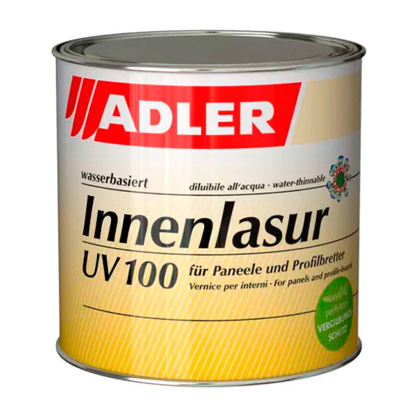 Краска для дерева ADLER Innenlasur UV 100 лессирующая