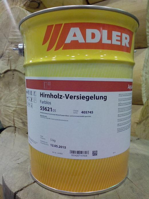 Защита торцов древесины Hirnholz-Versiegelung