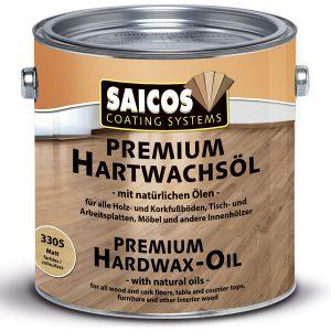 Масло с твёрдым воском SAICOS Premium Hartwachsoel для внутренних работ