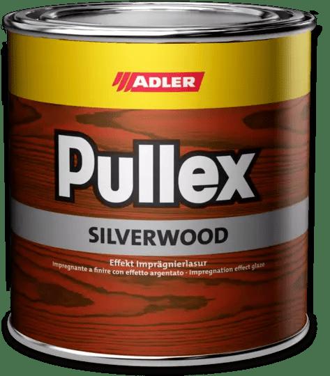 """Пропитка для дерева ADLER Pullex Silverwood с эффектом """"металлик"""""""