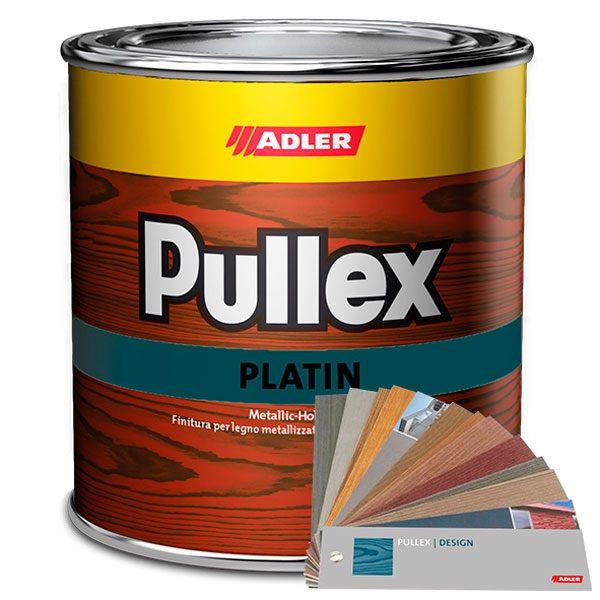 """Краска по дереву ADLER Pullex Platin с эффектом """"металлик"""""""