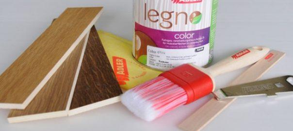 Маслом мебель покрываем – новый цвет мы получаем