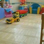 Обновление паркета в школах и детских садах паркетным лаком Floor-Finish