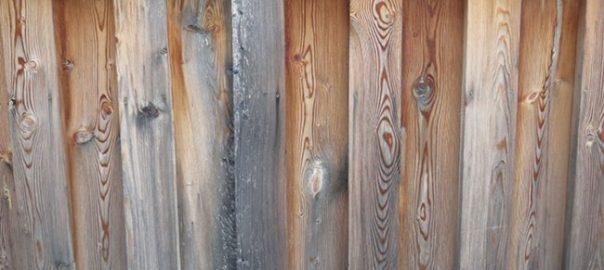 Забор для сада - удаление серого налета, нанесение покрытия, восстановление