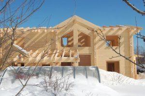 ADLER Lignovit IG для консервации при строительстве сруба или деревянного дома