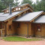 Заделка швов в деревянном доме герметиком Ramsauer Acryl 160