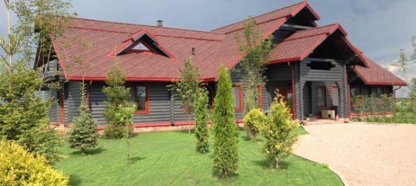 Дом из оцилиндрованного бруса
