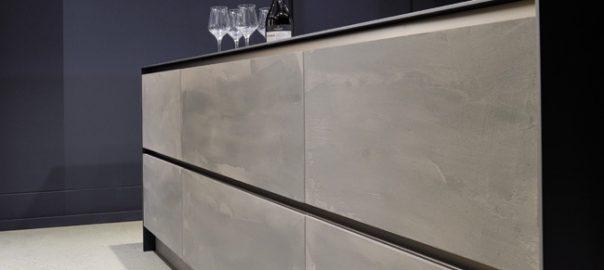 Эффект бетона для мебели