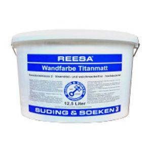 Дисперсионная краска премиум-класса REESA Wandfarbe Titanmatt