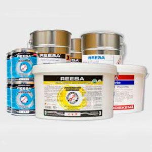 Профессиональные краски REESA по бетону и металлу