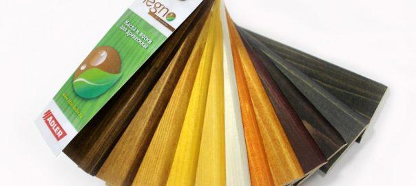Основные лессирующие цвета ADLER
