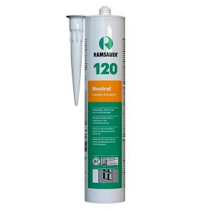 Термостойкий герметик силиконовый RAMSAUER 120 NEUTRAL